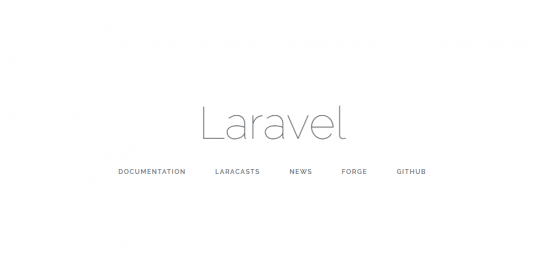 Laravelをインストール