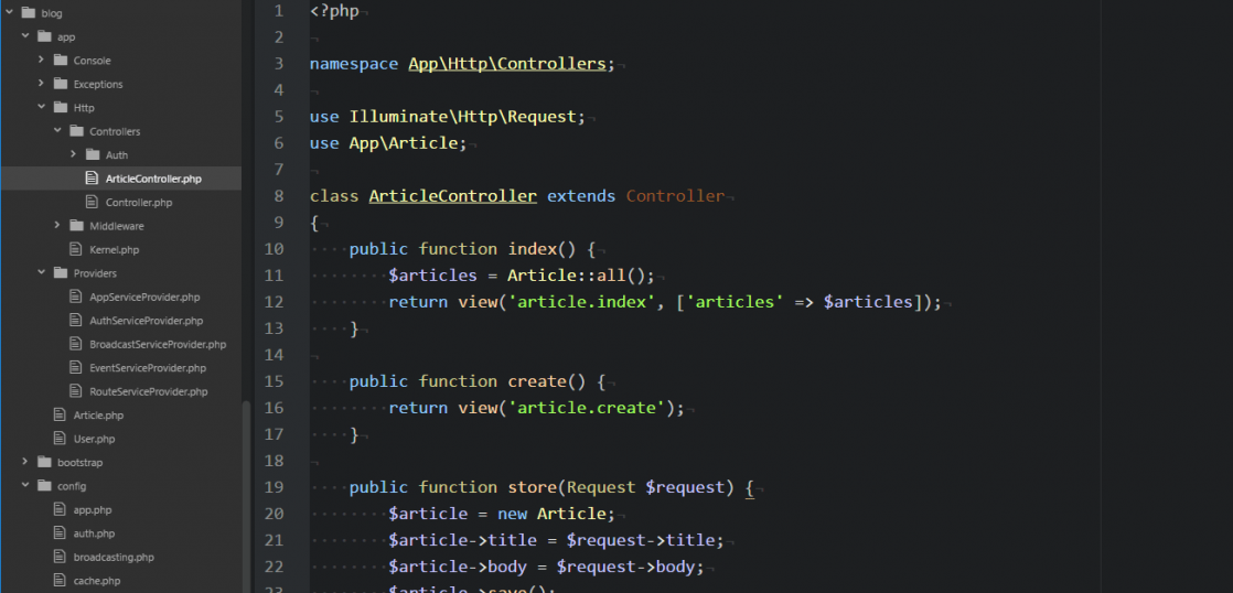 LaravelでCRUDプログラミング